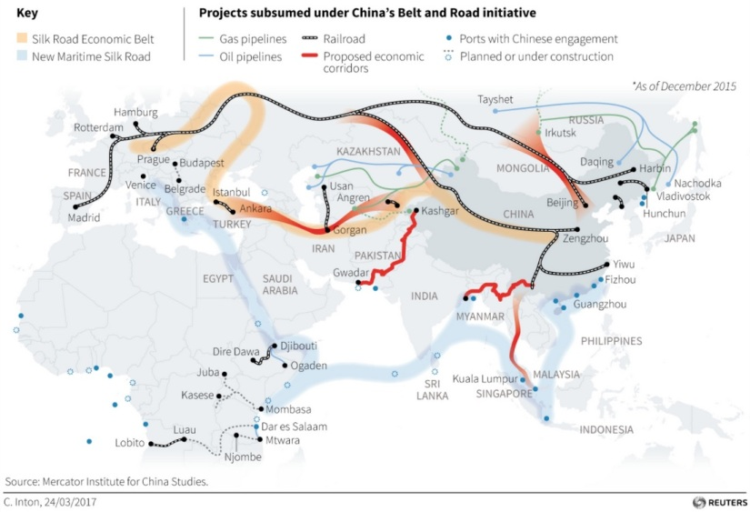 Mackinder and Mahan: The Chinese Geopolitics in SouthAsia